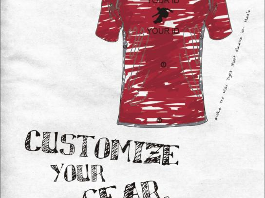 Nike Print Ad -  Shirt