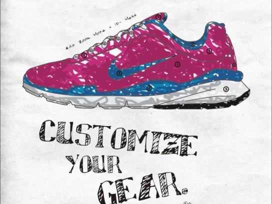 Nike Print Ad -  Shoe, 2