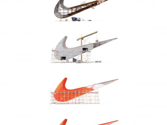 Nike Outdoor Ad -  Renovations Complete