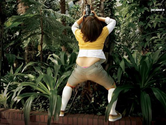 Nikon Print Ad -  Garden
