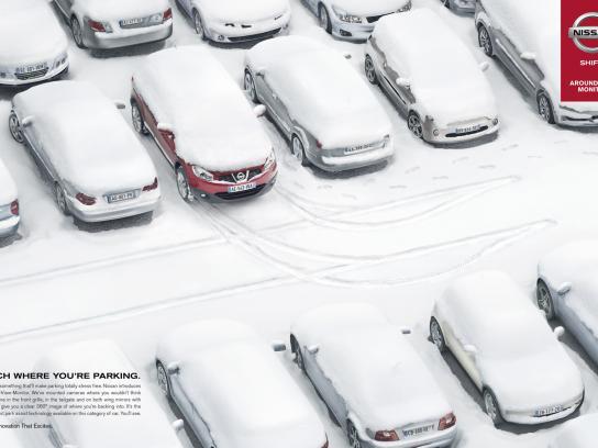 Nissan Print Ad -  Snow