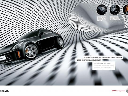 Nissan Print Ad -  350Z