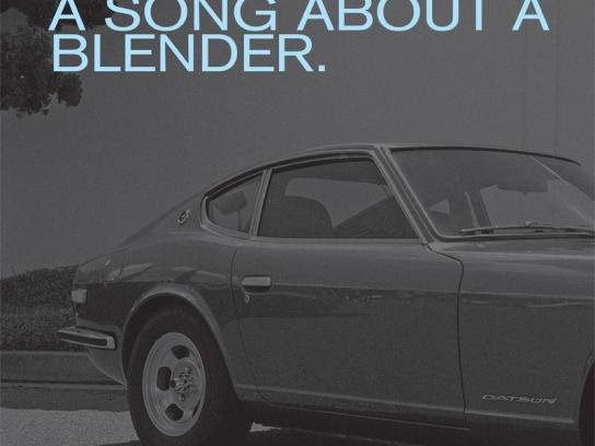 Nissan Print Ad -  Blender