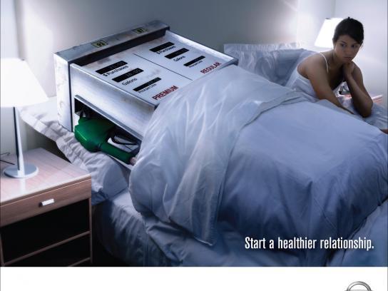 Nissan Print Ad -  Healthier, 2