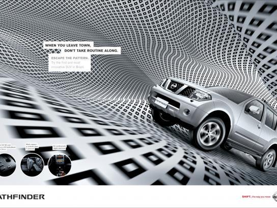 Nissan Print Ad -  Pathfinder