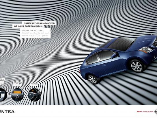 Nissan Print Ad -  Sentra