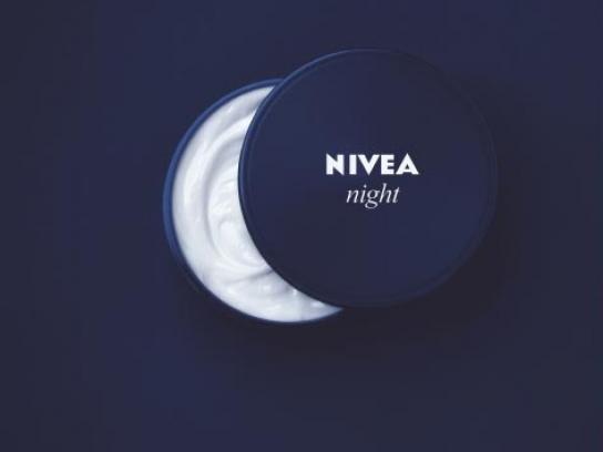 Nivea Print Ad -  Moon