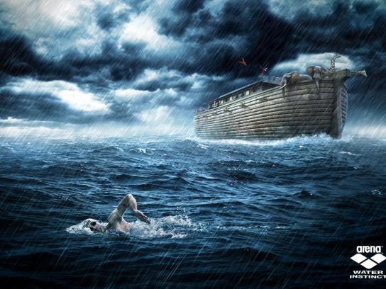 Arena Print Ad -  Noah's Ark