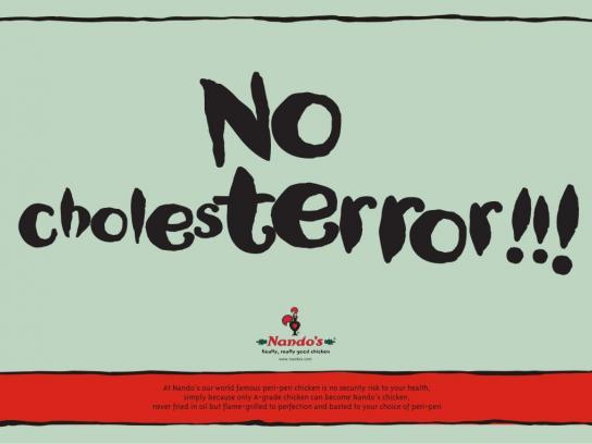 Nando's Print Ad -  Cholesterol