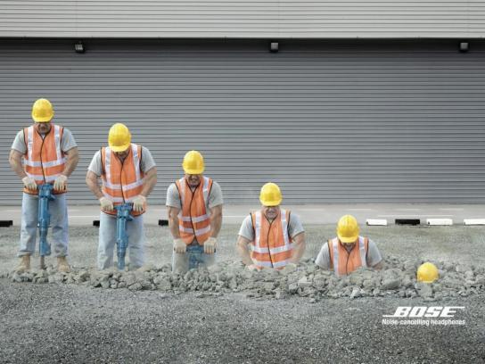 Bose Print Ad -  Construction