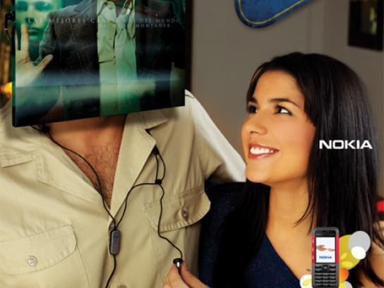 Nokia Print Ad -  Restaurant