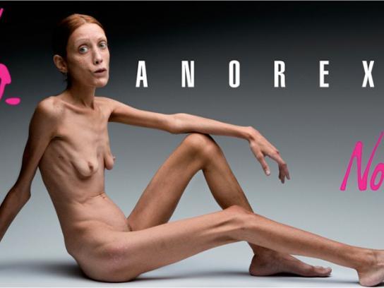 No-l-ita Print Ad -  Isabelle Caro, 2