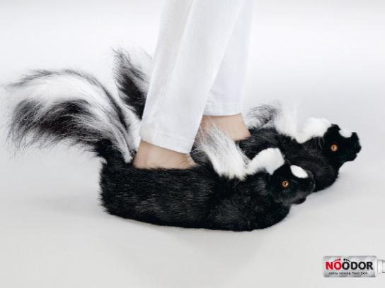 NoOdor Print Ad -  Skunks