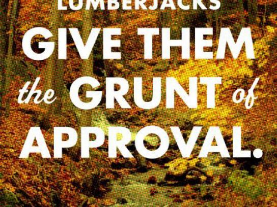 North Peak Print Ad -  Brewed up north, 2