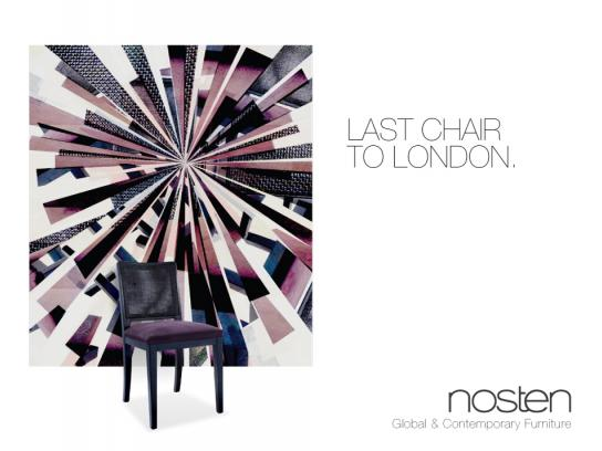 Nosten Print Ad -  Chair