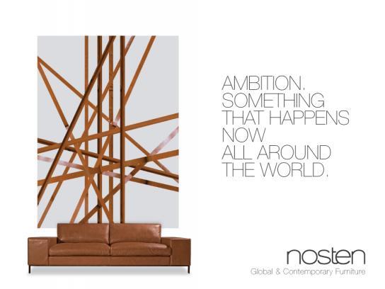 Nosten Print Ad -  Sofa