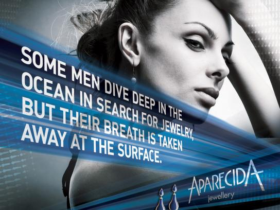 Aparecida Jewellery Print Ad -  Dive