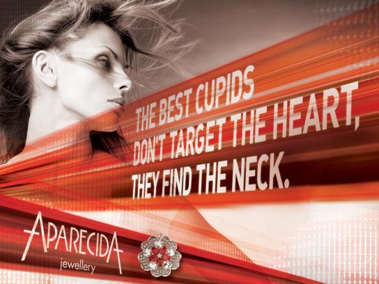 Aparecida Jewellery Print Ad -  Cupids