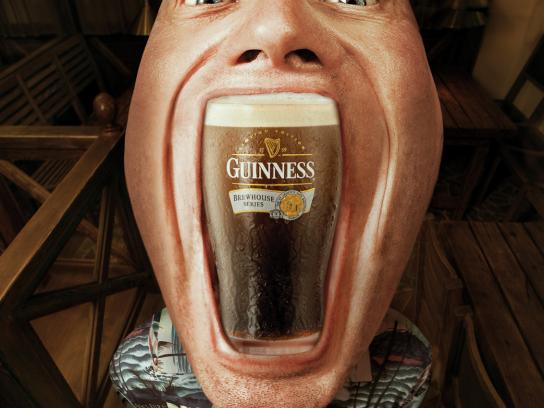Beer Point Print Ad -  Guinness