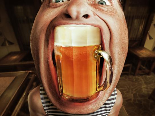 Beer Point Print Ad -  Krusovice