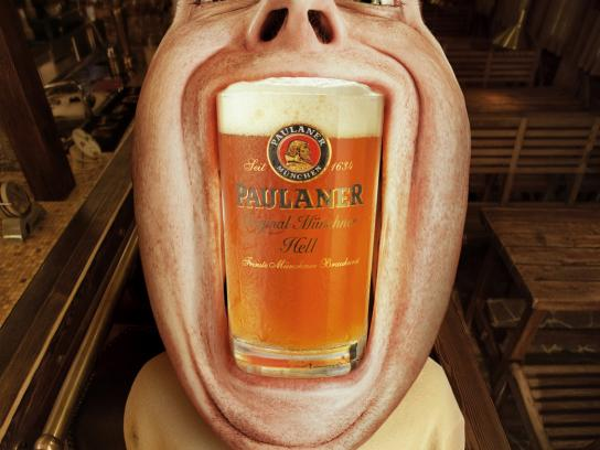 Beer Point Print Ad -  Paulaner, 2