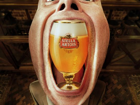 Beer Point Print Ad -  Stella Artois