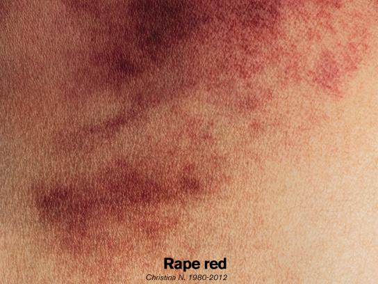 Neither whores nor submissives Print Ad -  Red