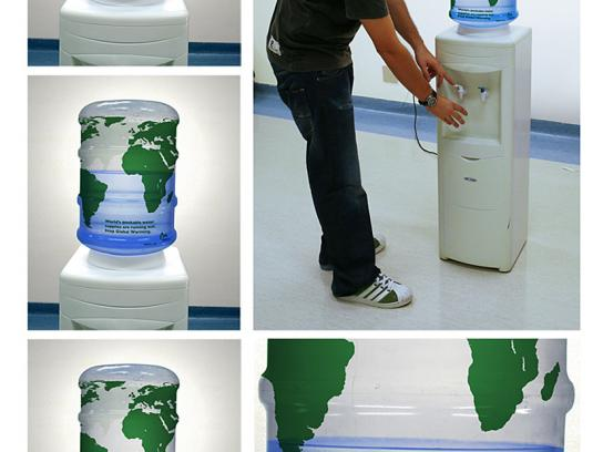 NRDC Ambient Ad -  Water dispenser