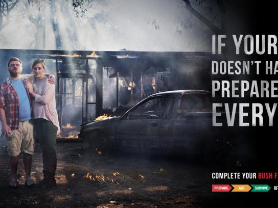 NSW RFS Outdoor Ad -  Car