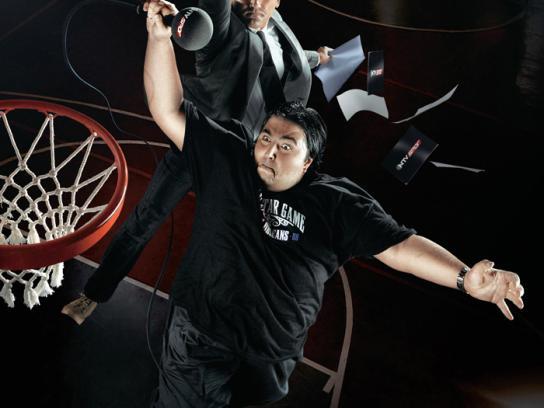 NTV Spor Print Ad -  Sports speakers at their best, 3