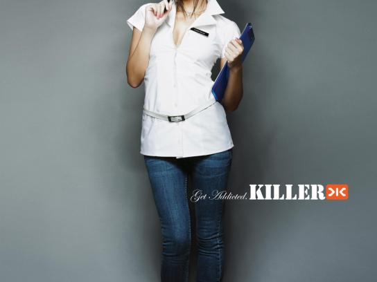 Killer Jeans Print Ad -  Nurse