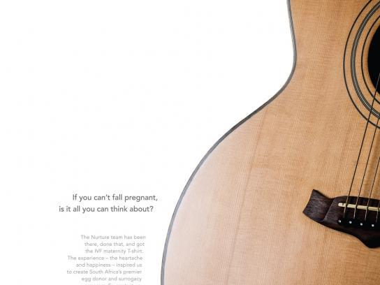 Nurture Print Ad -  Guitar