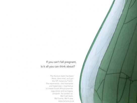 Nurture Print Ad -  Vase