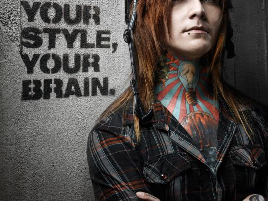 Nutcase Print Ad -  Your Style, but safe, 1