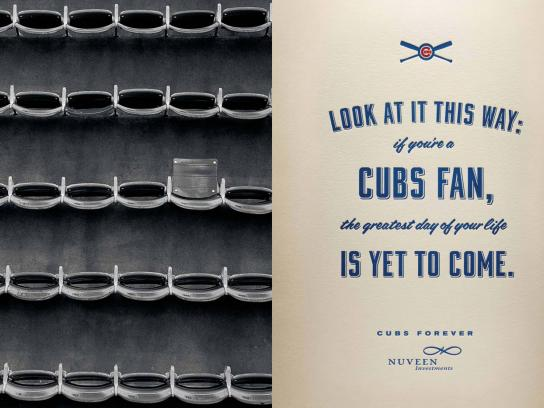 Nuveen Investments Outdoor Ad -  Chicago Cubs, 6