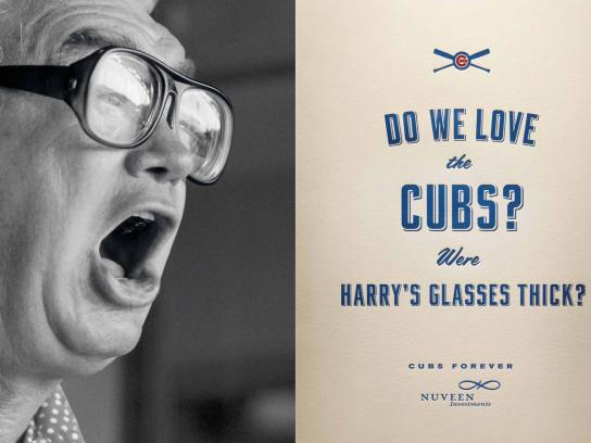 Nuveen Investments Outdoor Ad -  Chicago Cubs, 7