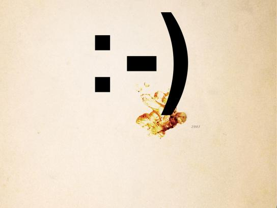 Nu-Way Weiners Print Ad -  Emoticon