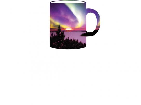 Northwest Territories Tourism Print Ad -  Cup