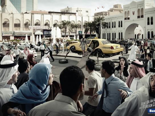 Berlitz Print Ad -  NY Taxi