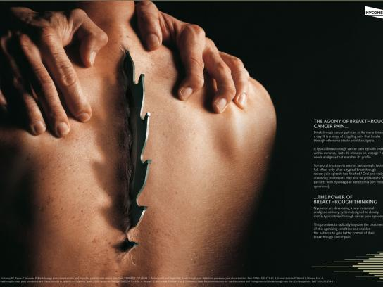 Nycomed Print Ad -  Agony, 3