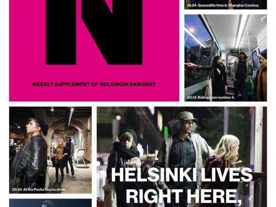 Helsingin Sanomat Print Ad -  Pecha Kucha