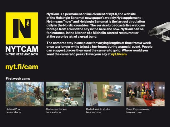 Helsingin Sanomat Digital Ad -  NytCam