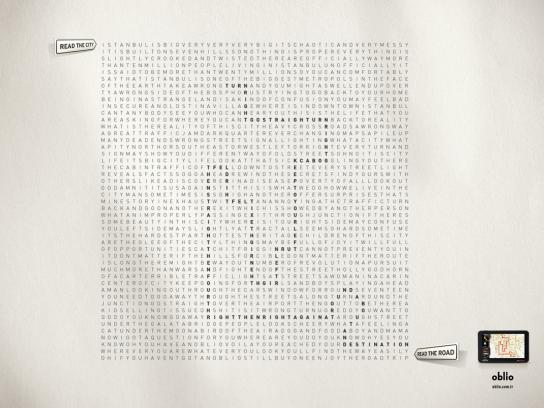 Oblio Print Ad -  Puzzle