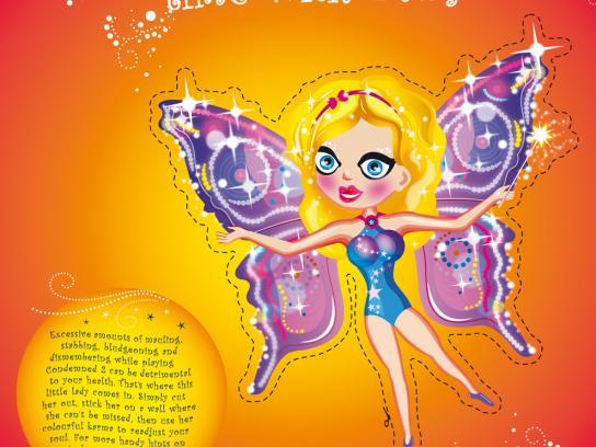Sega Print Ad -  Fairy