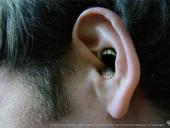 Tinnitus Print Ad -  Ear