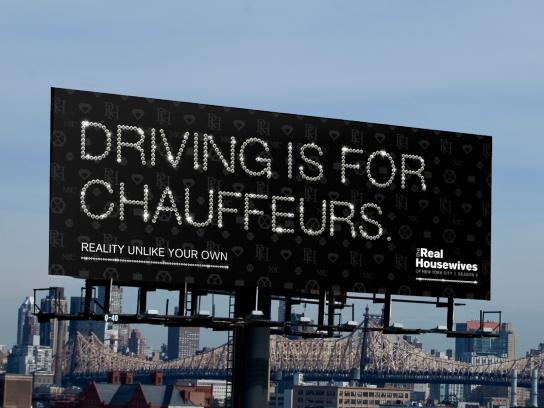 The Real Housewives Outdoor Ad -  Driving