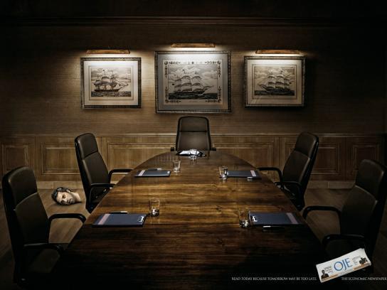 Oje Print Ad -  Boardroom