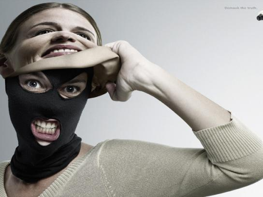 Okami Print Ad -  Unmask the truth, 3