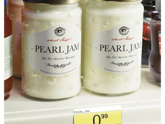 Carrefour Print Ad -  Pearl Jam