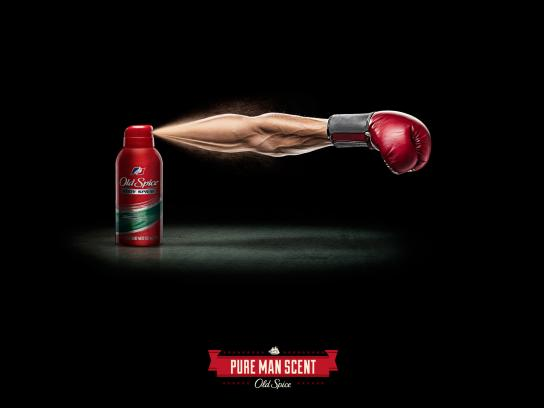 Old Spice Print Ad -  Arms, Boxer